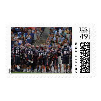 ANNAPOLIS, MD - JUNE 25:  The Boston Cannons Postage Stamp