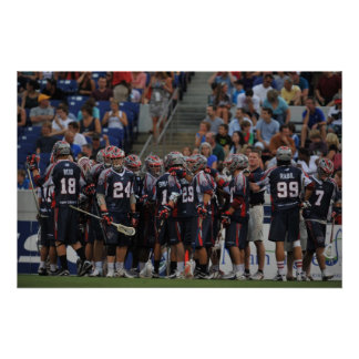 ANNAPOLIS, MD - JUNE 25:  The Boston Cannons Poster