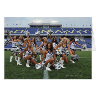 ANNAPOLIS, MD - JUNE 25:  The Hawkettes perform Card