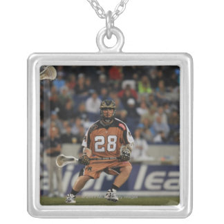ANNAPOLIS, MD - MAY 14:  Andrew Spack #28 2 Square Pendant Necklace
