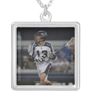 ANNAPOLIS, MD - MAY 14:  Ben Rubeor #13 4 Silver Plated Necklace