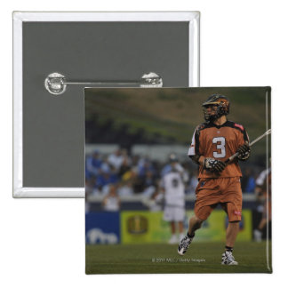 ANNAPOLIS, MD - MAY 14:  Brett Garber #3 Pinback Button