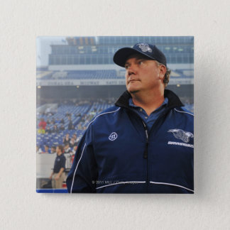 ANNAPOLIS, MD - MAY 14:  Head coach Brendan Pinback Button