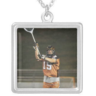 ANNAPOLIS, MD - MAY 14:  Mike Gabel #19 2 Silver Plated Necklace