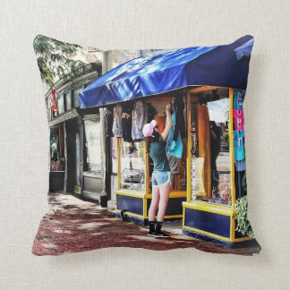 Annapolis MD - Opening For Business Throw Pillow