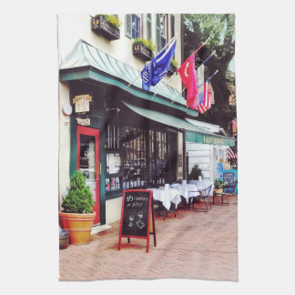 Annapolis MD - Restaurant On State Circle Kitchen Towel