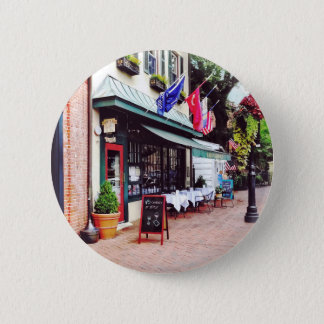 Annapolis MD - Restaurant On State Circle Pinback Button