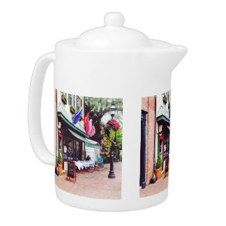 Annapolis MD - Restaurant On State Circle Teapot