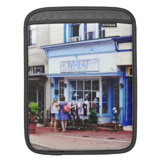 Annapolis MD - Shopping on Main Street iPad Sleeve