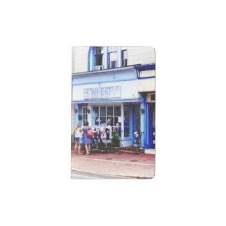 Annapolis MD - Shopping on Main Street Pocket Moleskine Notebook