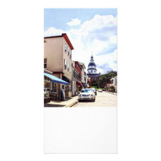 Annapolis MD Shops On Maryland Avenue Card
