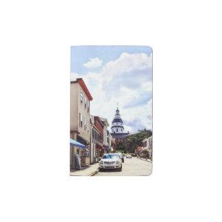 Annapolis MD Shops On Maryland Avenue Pocket Moleskine Notebook