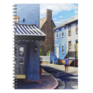Annapolis MD - Strolling Along Pinkney Street Notebook