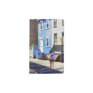 Annapolis MD - Strolling Along Pinkney Street Pocket Moleskine Notebook