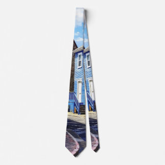 Annapolis MD - Strolling Along Pinkney Street Tie