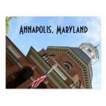 Annapolis, postal del tribunal del MD