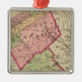 Annapolis, Queens counties, NS Metal Ornament