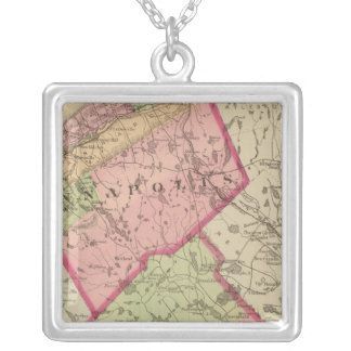 Annapolis, Queens counties, NS Silver Plated Necklace