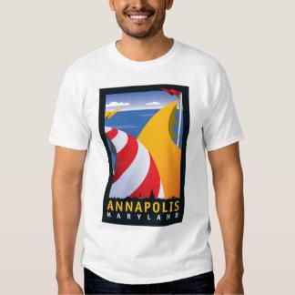 Annapolis, Sails T Shirt