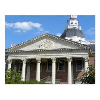 Annapolis state house postcard