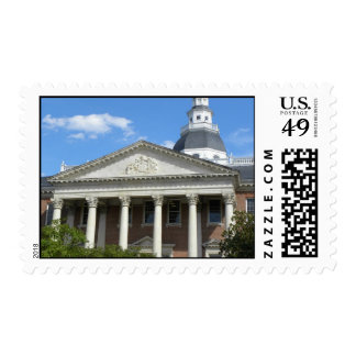 Annapolis state house stamp