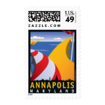 Annapolis, velas sellos