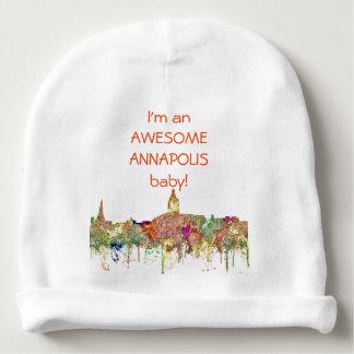 Annapolis, Virginia Skyline - Baby Beanie