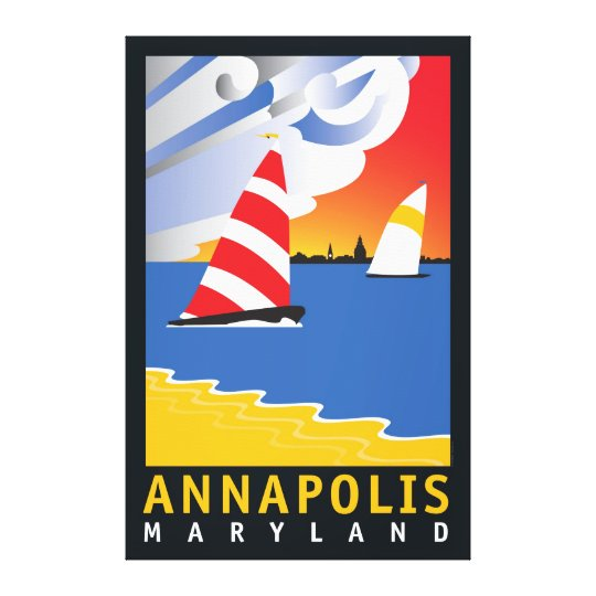 Annapolis, Wednesday Afternoon Canvas Print