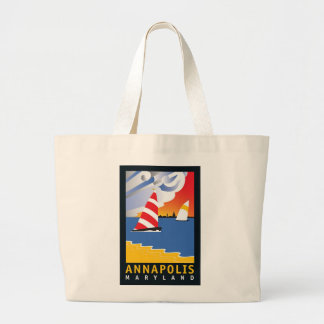 Annapolis, Wednesday Afternoon Large Tote Bag