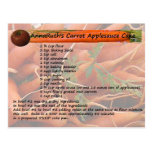 AnnaRuth's Carrot Applesauce Cake Postcard