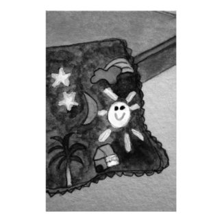 Anna's blanket stationery design