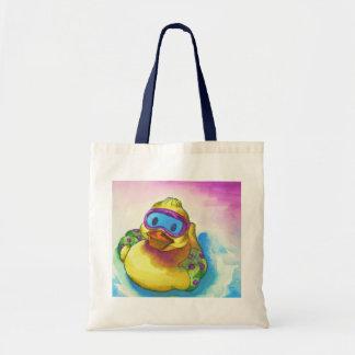 Anna's Ducky Friend Budget Tote Bag