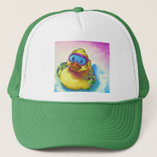 Anna's Ducky Friend Trucker Hat