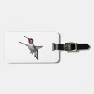 Anna's Hummingbird Bag Tag