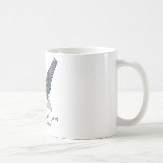 Anna's Hummingbird Male with Name Coffee Mug