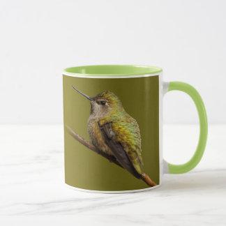 Anna's Hummingbird on Scarlet Trumpetvine Mug
