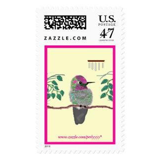 Anna's Hummingbird Postage