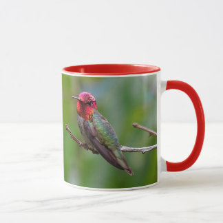 Anna's Hummingbird: This King Wears a Pink Crown Mug