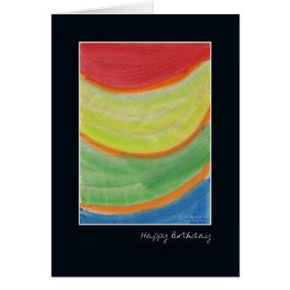 Anna's Rainbow Framed Birthday Card