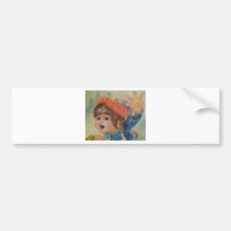 Anna's Robin 3 Bumper Sticker