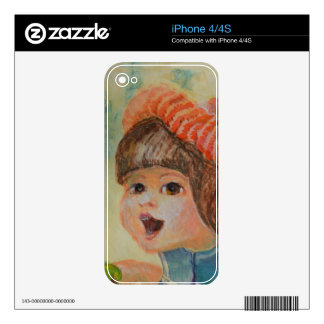 Anna's Robin 3 iPhone 4 Decal