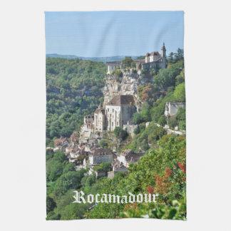 Anncient village of Rocamadour Towel