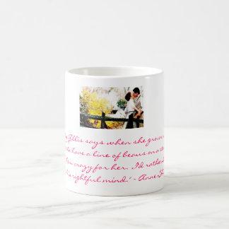 Anne and Gilbert Classic White Coffee Mug