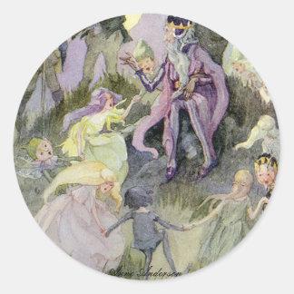 Anne Anderson Series* The Little Folk Classic Round Sticker