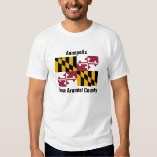 Anne Arundel County Maryland Tee Shirt