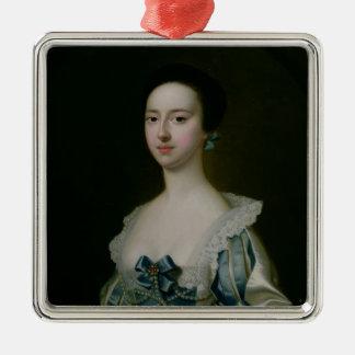 Anne Bateman, later Mrs. John Gisbourne, 1755 Metal Ornament