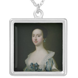 Anne Bateman, later Mrs. John Gisbourne, 1755 Silver Plated Necklace