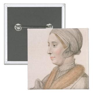Anne Boleyn (1507-36) engraved by Francesco Bartol Button