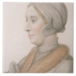 Anne Boleyn (1507-36) engraved by Francesco Bartol Ceramic Tile