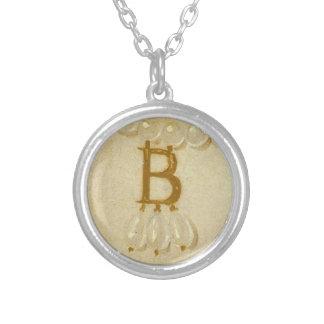 """Anne Boleyn """"B"""" Necklace"""